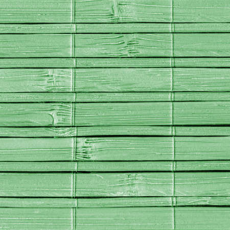 kelly: Bamboo Mat, Bleached and Stained Pale Kelly Green, Grunge Texture Sample.