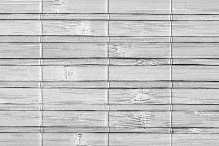 far east: Estera de bambú, blanqueado y manchado gris, grunge textura de la muestra.