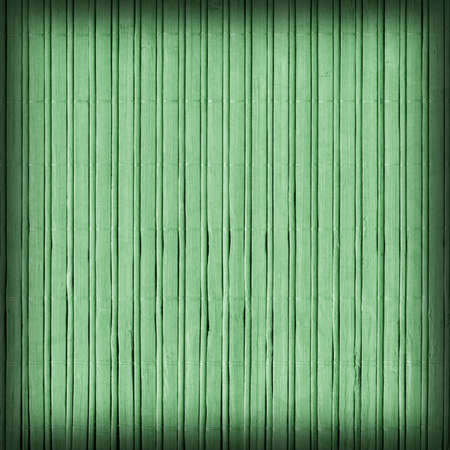 kelly: Bamboo Mat, Bleached and Stained Pale Kelly Green, Vignette, Grunge Texture Sample.