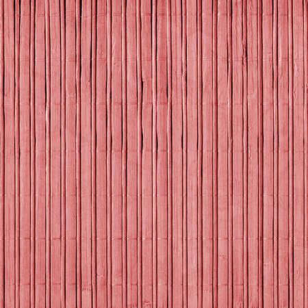 pinkish: Bamboo Mat, Bleached and Stained Pale, Pinkish Red, Grunge Texture Sample.