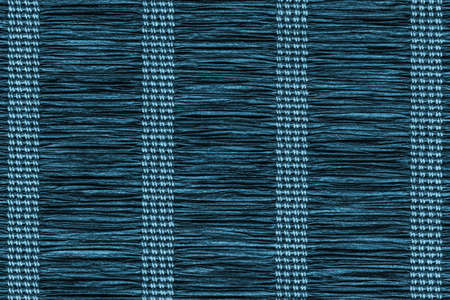 plaited: Paper Parchment Plaited Place Mat, Stained Dark Marine Blue, Grunge Texture Sample.