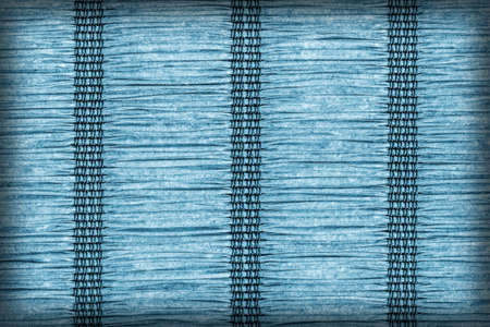 plaited: Paper Parchment Plaited Place Mat, Stained Dark Marine Blue, Vignette, Grunge Texture Sample.