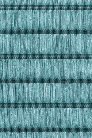 plaited: Paper Parchment Plaited Place Mat, Stained Dark Cyan Blue, Grunge Texture Sample.