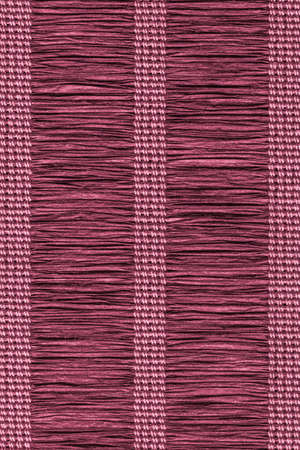 plaited: Paper Parchment Plaited Place Mat, Stained Magenta, Grunge Texture Sample.