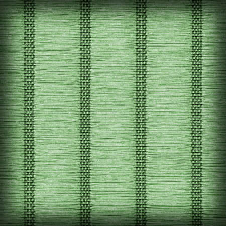plaited: Paper Parchment Plaited Place Mat, Natural Dark Green, Vignette, Grunge Texture Sample.