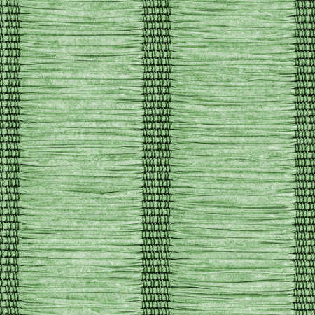 plaited: Paper Parchment Plaited Place Mat, Natural Dark Green, Grunge Texture Sample.