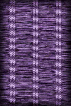 plaited: Paper Parchment Plaited Place Mat, Stained Purple, Vignette, Grunge Texture Sample.