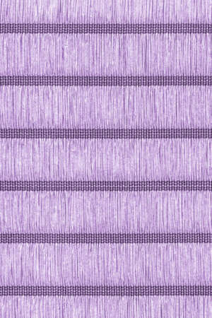 plaits: Place Mat, Made of Interwoven Paper Parchment Plaits, Stained Purple Grunge Texture Sample. Stock Photo