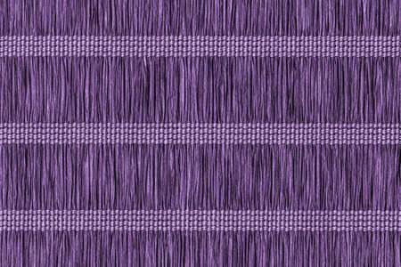 vellum: Place Mat, Made of Interwoven Paper Parchment Plaits, Stained Dark Purple Grunge Texture Sample.
