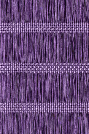 plaits: Place Mat, Made of Interwoven Paper Parchment Plaits, Stained Dark Purple Grunge Texture Sample.