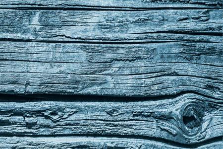 dilapidation: Old Wood, Weathered, Rotten, Cracked, Dark Pale Blue, Grunge Texture.