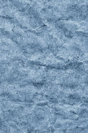 powder blue: Recycle Kraft Paper, Coarse Grain, Crumpled, Blotted, Mottled, Stained Pale Powder Blue, Grunge Texture Sample.