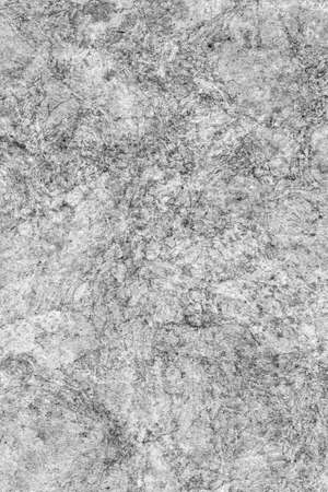 impurities: Recycle Kraft Paper, Coarse Grain, Crumpled, Blotted, Mottled, Bleached and Stained Gray, Grunge Texture Sample. Stock Photo