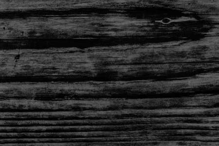 knotting: Old Charcoal Black Stained Wood Grunge Texture. Stock Photo