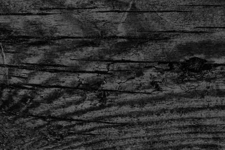 black background texture: Old Black Stained Wood Grunge Texture. Stock Photo