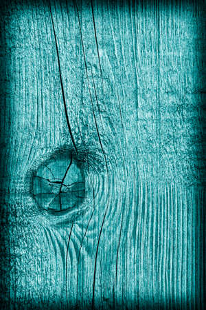 knotting: Old Wood Cyan Vignette Grunge Texture.