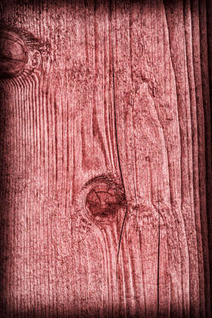 pale: Old Wood Pale Red Vignette Grunge Texture. Stock Photo