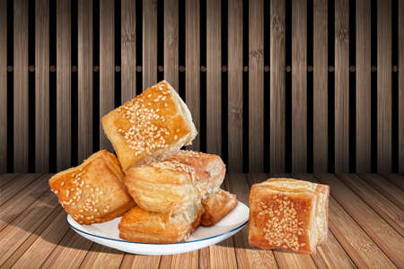 french culture: Croissant, Zu-Zu Croissant, Zu-Zu Puff-pastry, Sesame-seeds Croissant, Serbian Cuisine, Pastry, Boulangerie, Viennoiserie, Golden Crust, Crispy Crust, Delicious, Dessert, Food, French, Fresh, Meal, Tasty, Traditional, French Culture, Sprinkled, Sesame See
