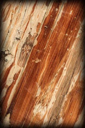 brunt: Old Varnished Wooden Panel Cracked Scratched Peeled Vignette Grunge Texture