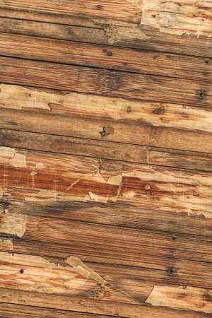 tongue and groove: Old Weathered Varnished Block-board, Cracked, Scratched, Peeled Off, Grunge Texture.