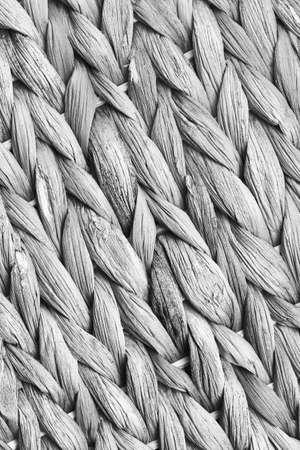 raffia: Raffia Place Mat Extra Rough Plaiting Gray Grunge Texture Detail