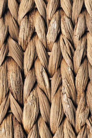 raffia: Raffia Place Mat Extra Rough Plaiting Grunge Texture Detail Stock Photo