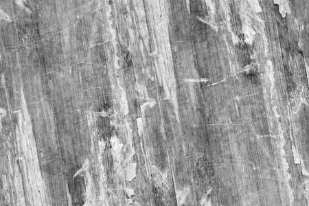 wood panel: Old Weathered Wood Laminated Flooring Varnished Blockboard Panel, Cracked, Scratched, Peeled Off, Gray Grunge Texture