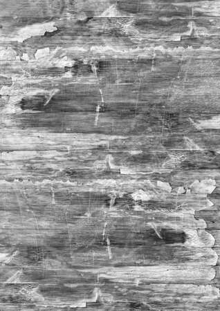 varnished: Old Weathered Wood Laminated Flooring Varnished Blockboard Panel, Cracked, Scratched, Peeled Off, Gray Grunge Texture