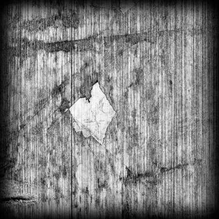 wood flooring: Old Laminated Flooring Varnished Wood Block-board, Cracked Scratched Peeled Vignette Gray Grunge Texture.