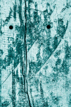 railroad tie: Old Weathered Rotten Cracked Wooden Railroad Tie Rustic Coarse Monochrome Cyan Grunge Texture