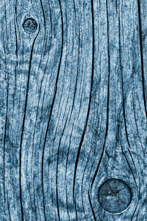 dilapidation: Old Knotted Weathered Rotten Cracked Wooden Rustic Floorboard Coarse Blue Grunge Texture