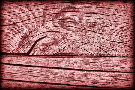 floorboard: Old Knotted Weathered Rotten Cracked Wooden Rustic Floorboard Coarse Red Vignetted Grunge Texture Stock Photo