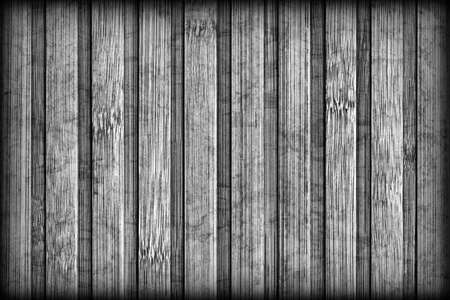 Bamboo Place Mat Bleached and Stained Dark Gray Vignetted Grunge Texture