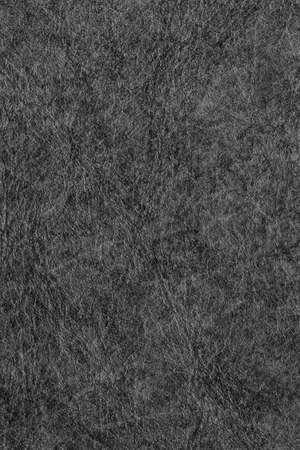 mottled skin: Old Black Cowhide Coarse Wizened Crumpled Grunge Texture