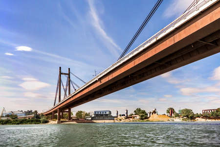 New Suspension Railway Bridge Over Sava River - Belgrade - Serbia