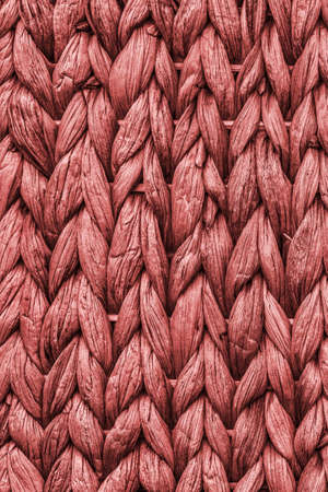 Raffia Place Mat Extra Rough Maroon Red Grunge Texture