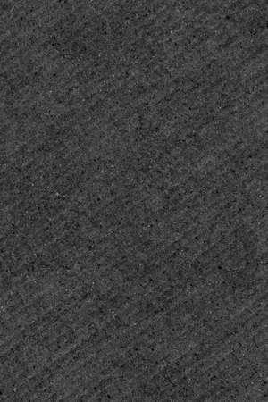 Recycled Black Corrugated Fiberboard Coarse Grunge Background Texture Stock Photo