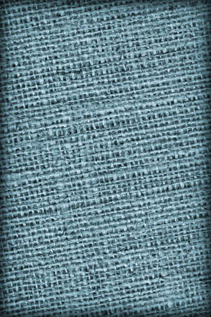vignetted: Burlap Canvas Coarse Vignetted Blue Grunge Texture