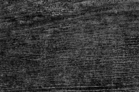 Old Weathered Knotted Cracked Black Pine Floorboard Texture Detail