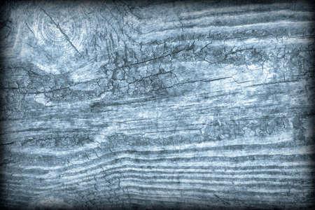 Old Wood Blue Vignetted Grunge Background Textur