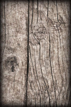 Old Wood Vignetted Grunge Background Texture Stock Photo