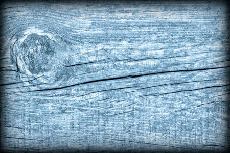 Old Wood Blue Vignetted Grunge Background Texture