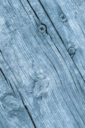 Old Weathered Cracked Knotted Powder Blue Pine Wood Floorboards Grunge Texture Stock Photo