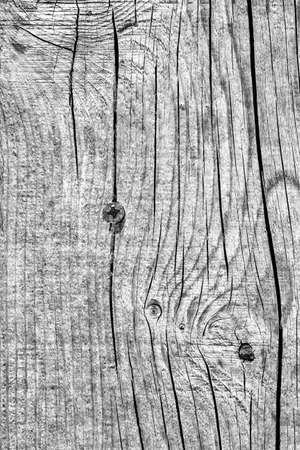 Old Weathered Cracked Knotted Gray Pine Wood Floorboards Grunge Texture Stock Photo