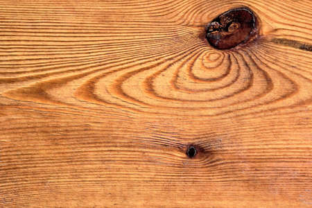Old Knotted Pine Wood Board Grunge Texture Detail Stock Photo