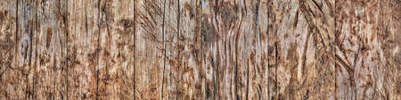 High Resolution Old Weathered Battered Cracked Knotted Pinewood Planking Background