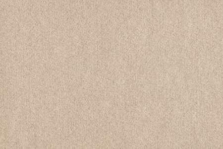 Beige Manila Recycled Kraft Paper Coarse Grunge Texture Stock Photo