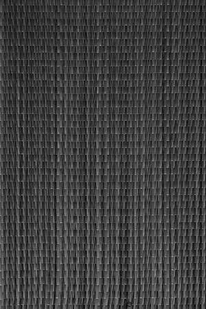 Plaited Straw Place Mat Black Rustic Coarse Grunge Texture Stock Photo
