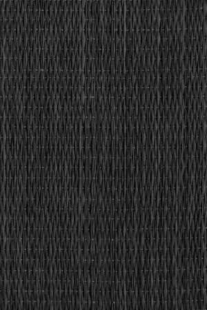 High Resolution Black Dyed Plaited Interlaced Straw Place Mat Rustic Coarse Grunge Texture