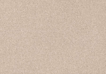 Recycle Beige Kraft Paper Coarse Grain Grunge Texture Sample